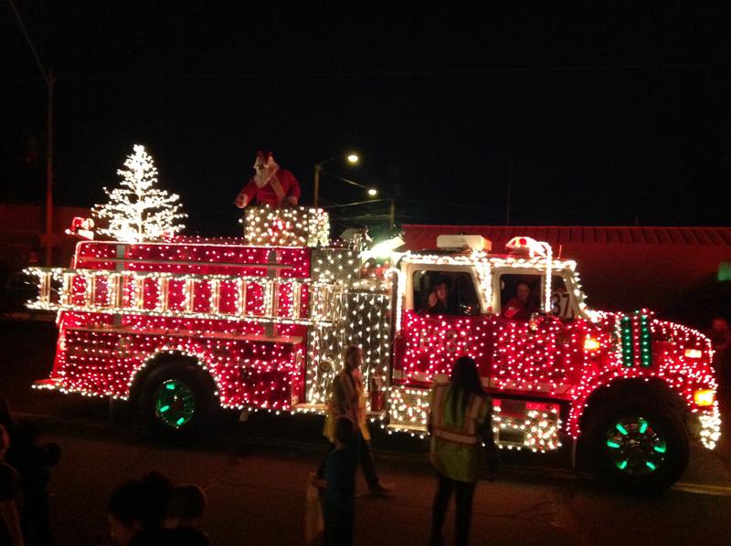 Christmas Light Parade - Coolidge, AZ