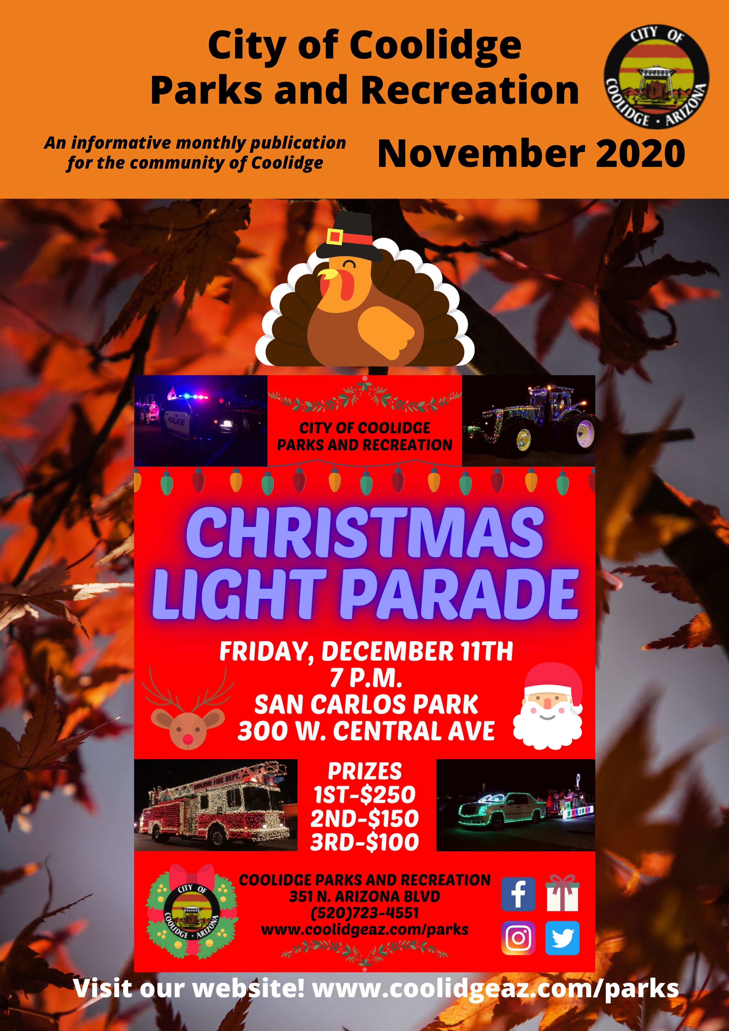 Coolidge Christmas Light Parade 2020 Time Newsletters   Coolidge, AZ